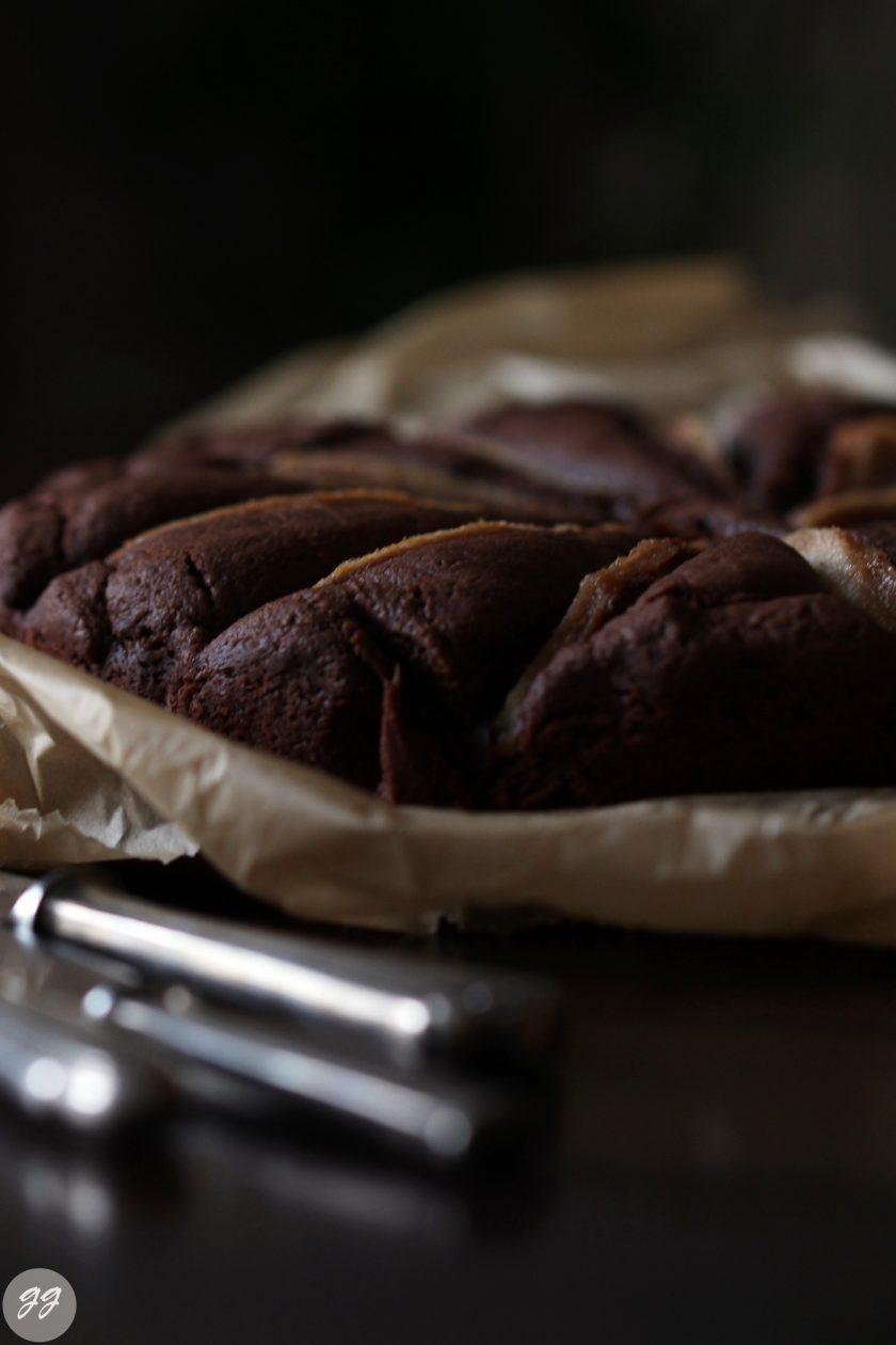 Schokoladen Birnen Tarte