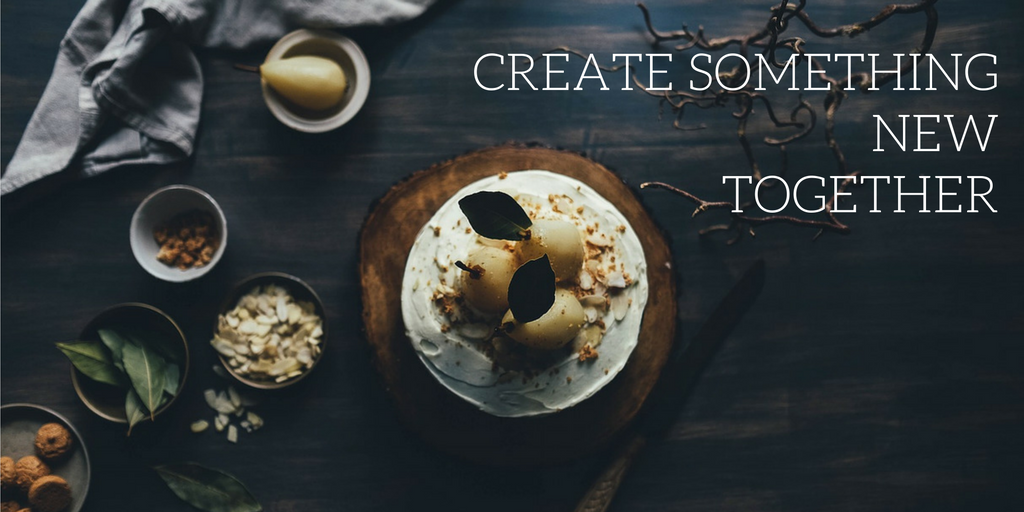CREATE SOMETHINGNEW TOGETHER