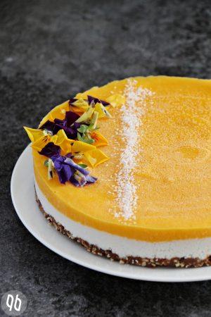 Mango Kokos Raw Cake 5