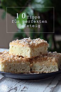 Tipps Hefeteig