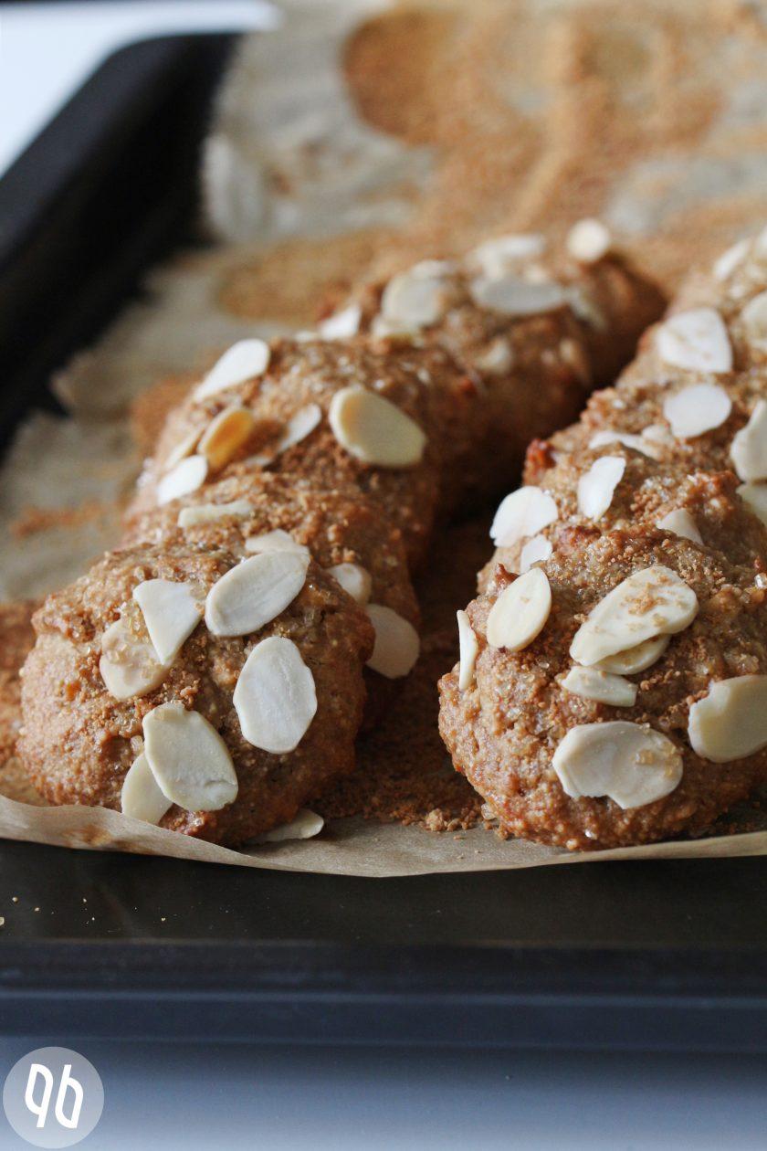 Bananencookies mit Mandeln