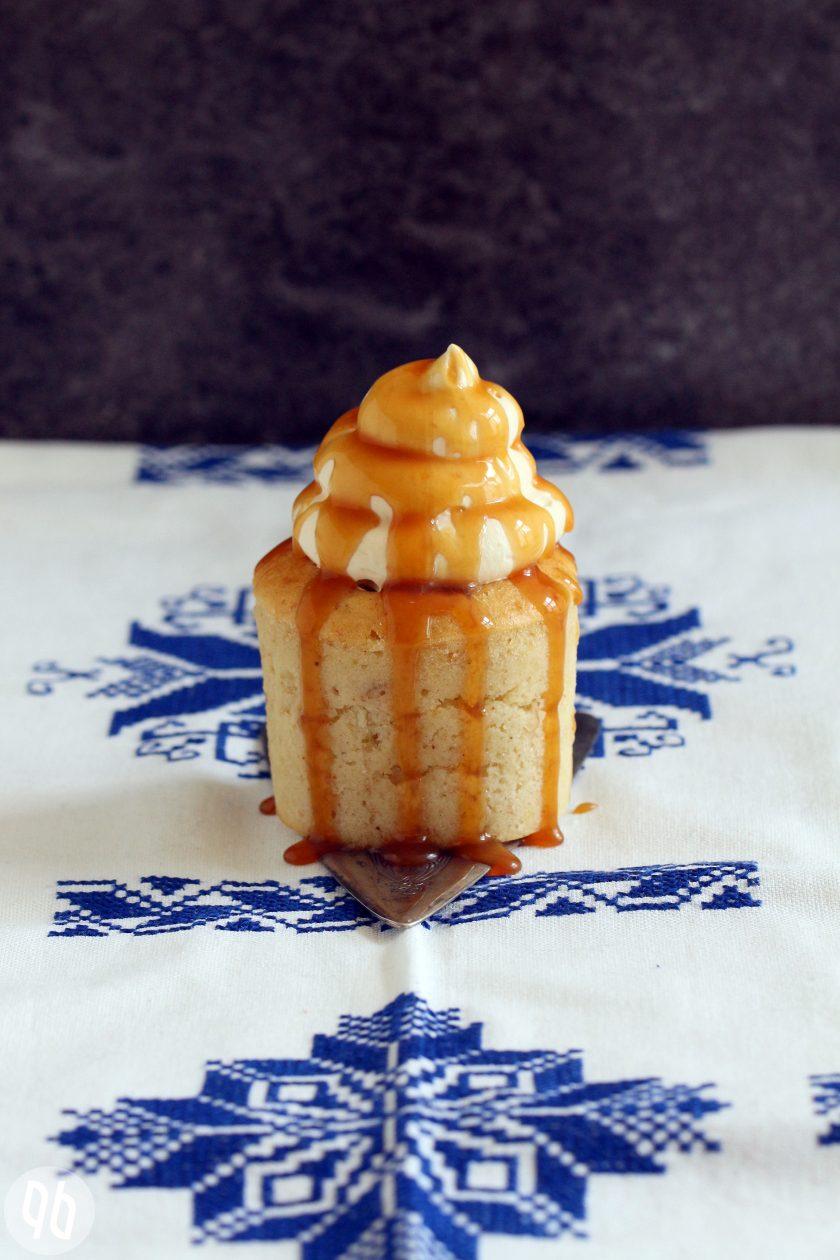 Bananen Toffee Cupcakes