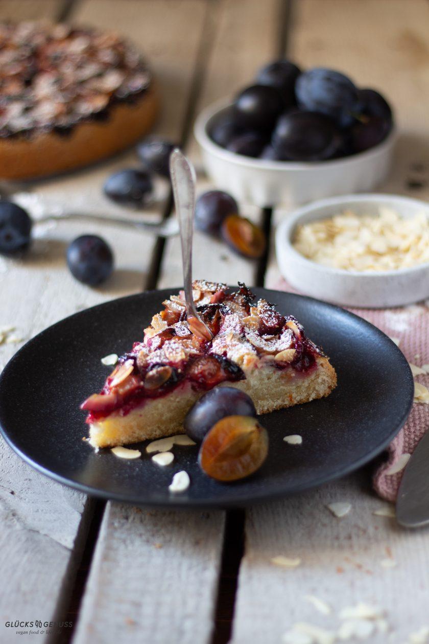 Veganer Zwetschgenkuchen