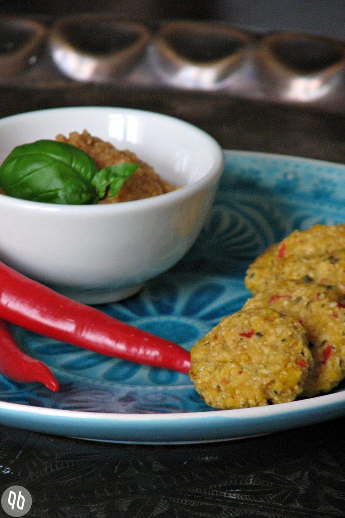 {Rezept} Indische Maistaler mit Linsen- Mangochutney