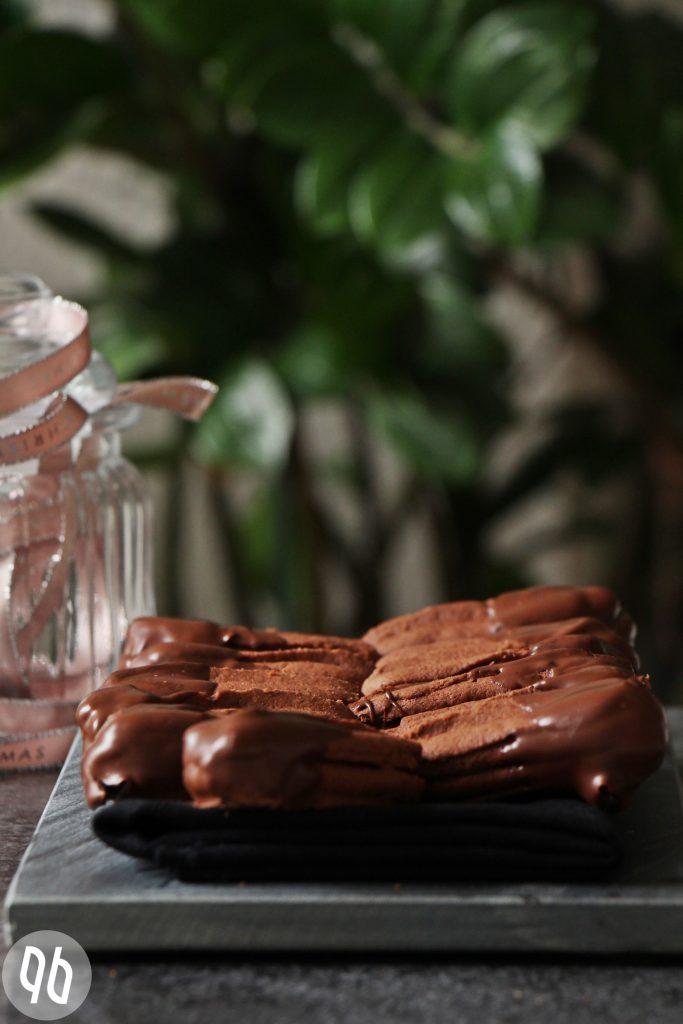 {Rezept} Gefüllte Nougatstangen mit winterlicher Schokolade