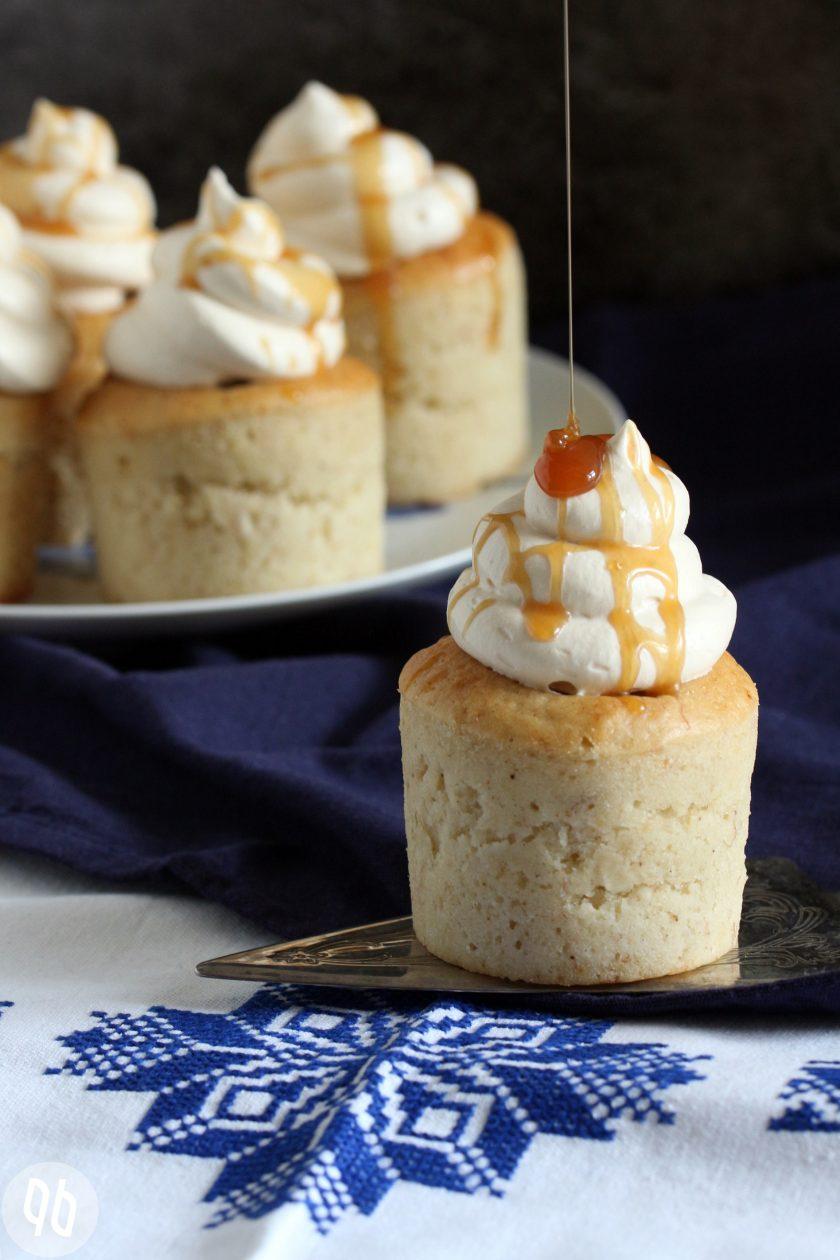 Bananen-Toffee-Cupcakes