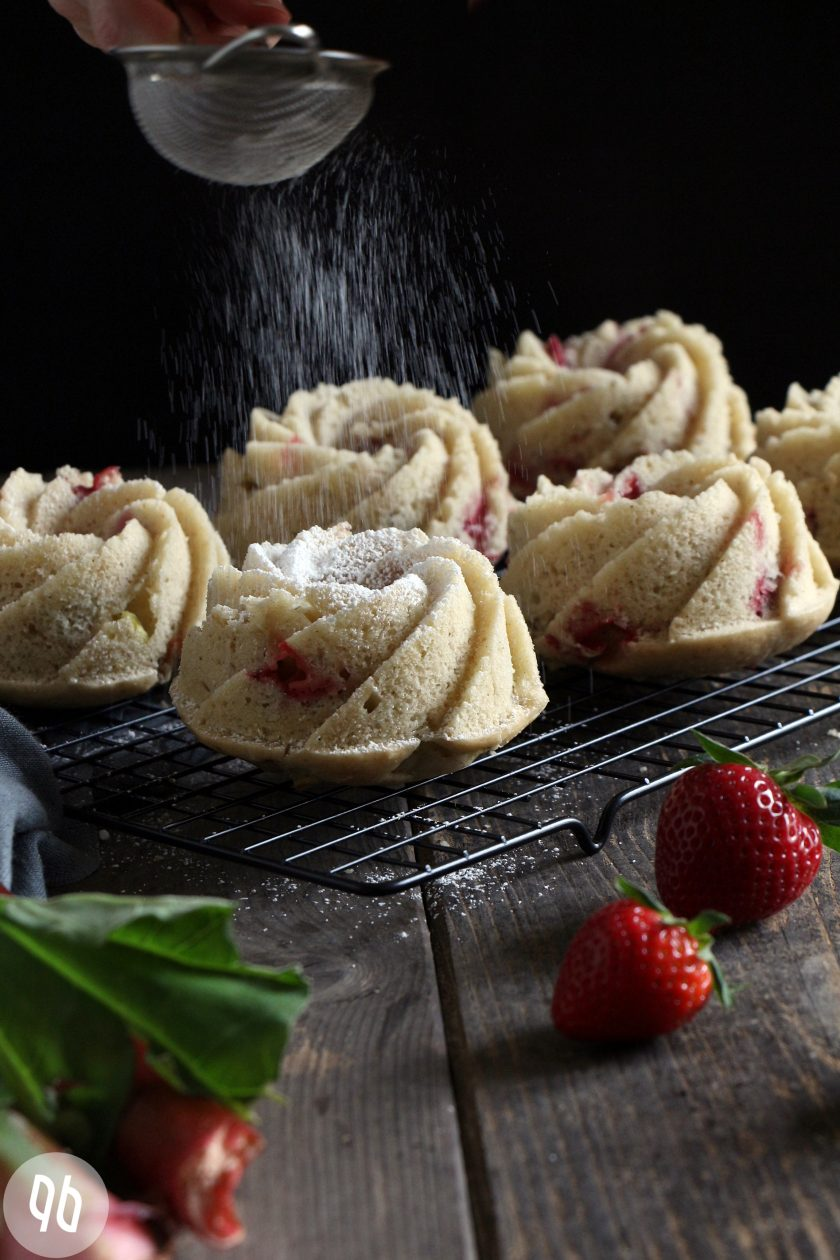 Erdbeer- Rhabarberkuchen