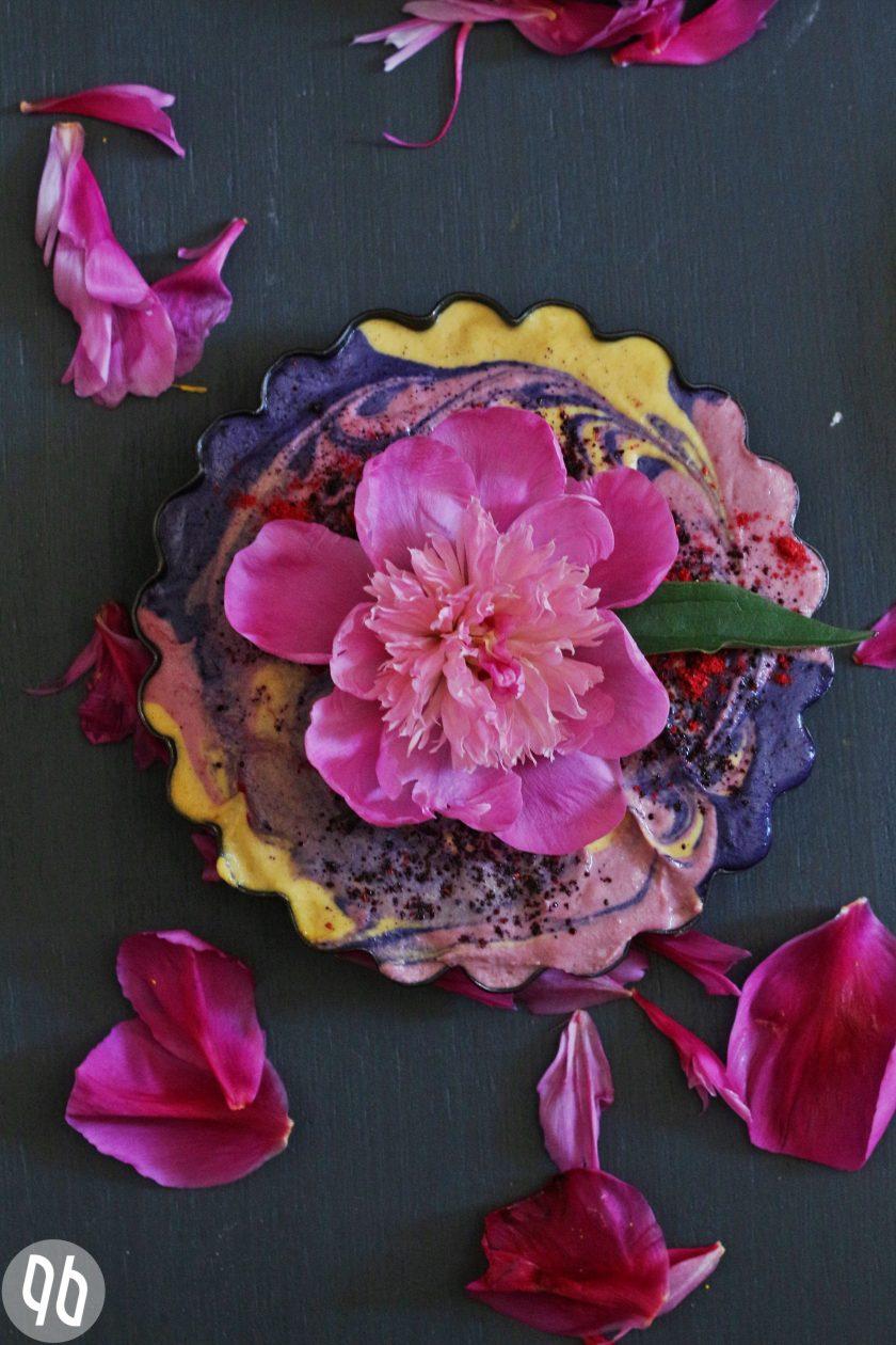 Fruchtiger Rohostkuchen