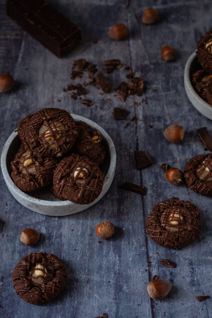 Haselnuss-Schokoladentaler