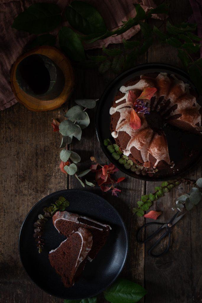 Veganer Schokoladengugl