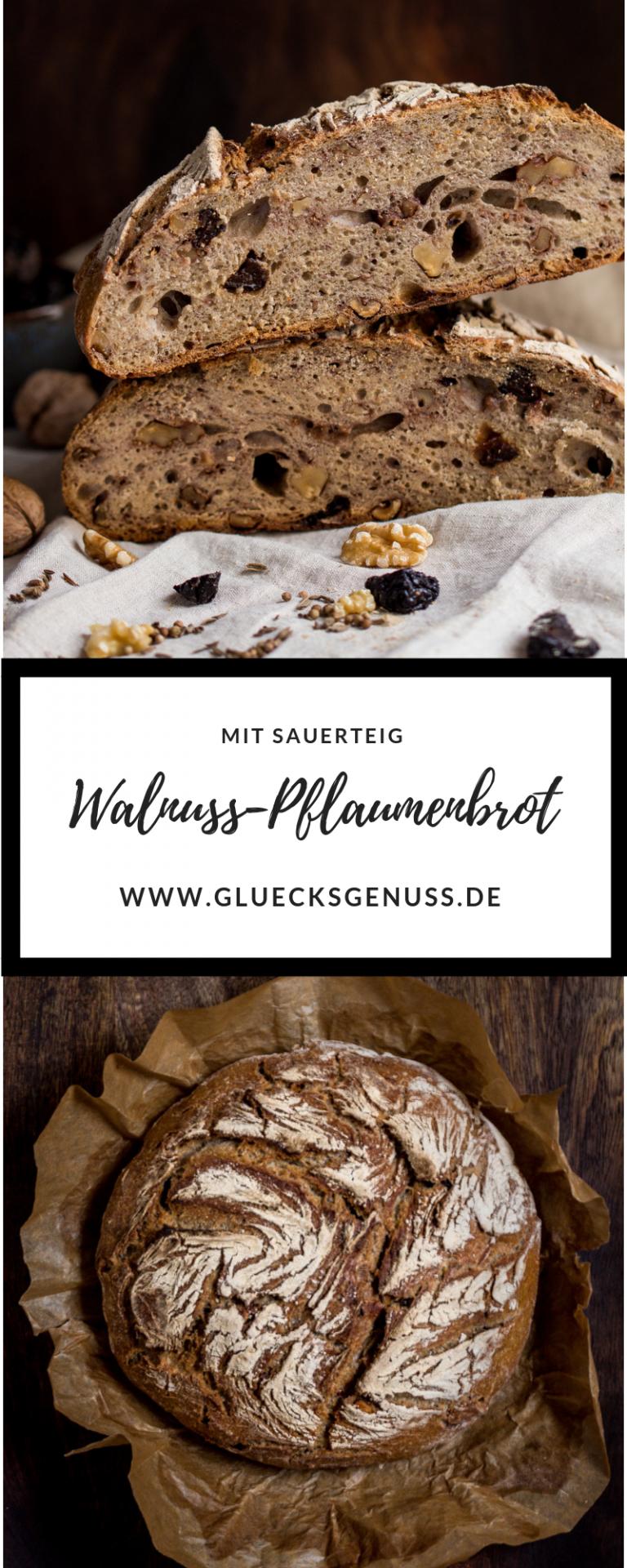 Walnuss-Pflaumenbrot