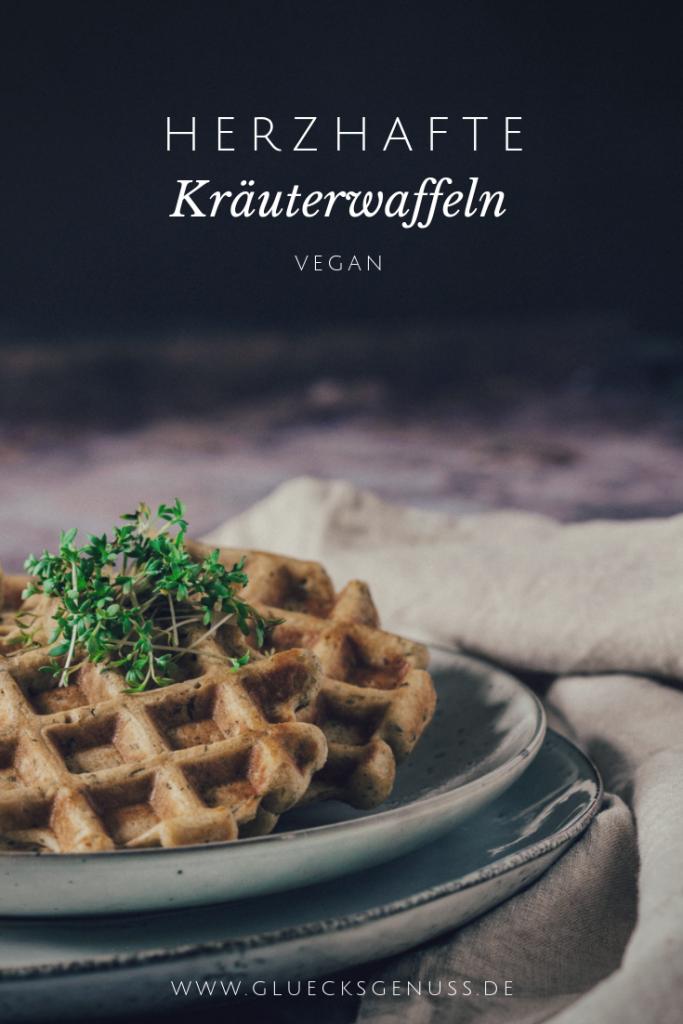 Kräuter-Maiswaffeln