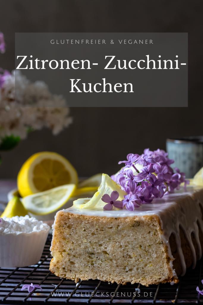 Rührkuchen mit Zitrone und Zucchini