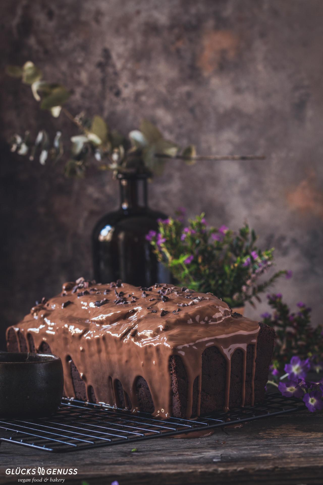 Glutenfreier Schokoladenkuchen vegan