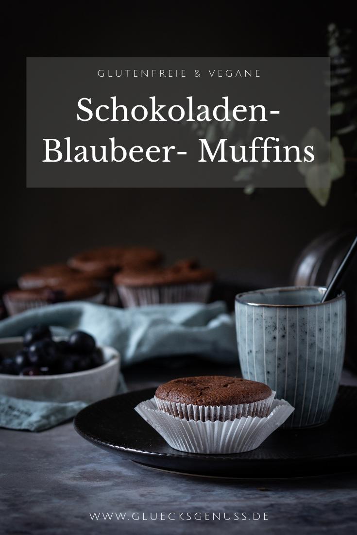 Schokoladen-Balubeer-Muffins/ glutenfrei & vegan