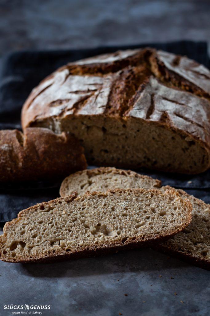 Dinkel-Quark-Brot mit Sauerteig