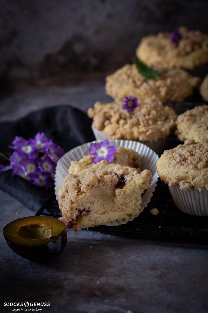 Pflaumen-Mandel-Muffins