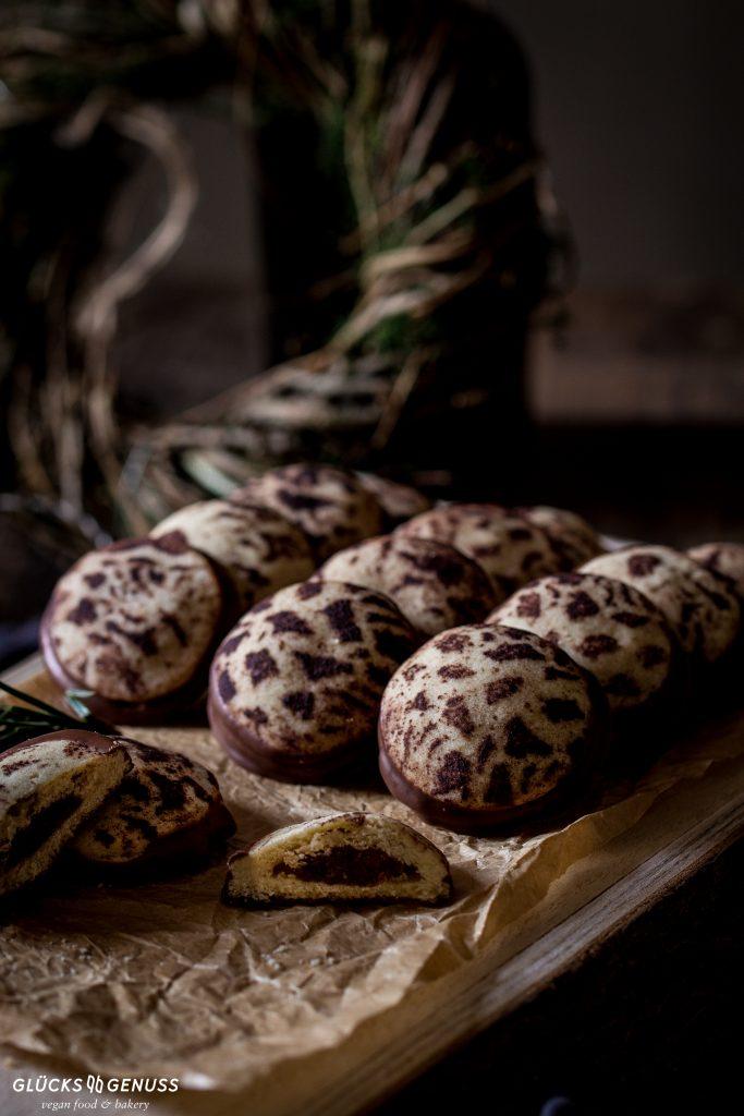 Dattelplätzchen mit Kakao