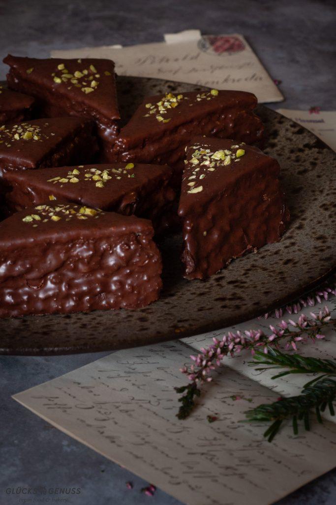 Weihnachtlicher Baumkuchen vegan