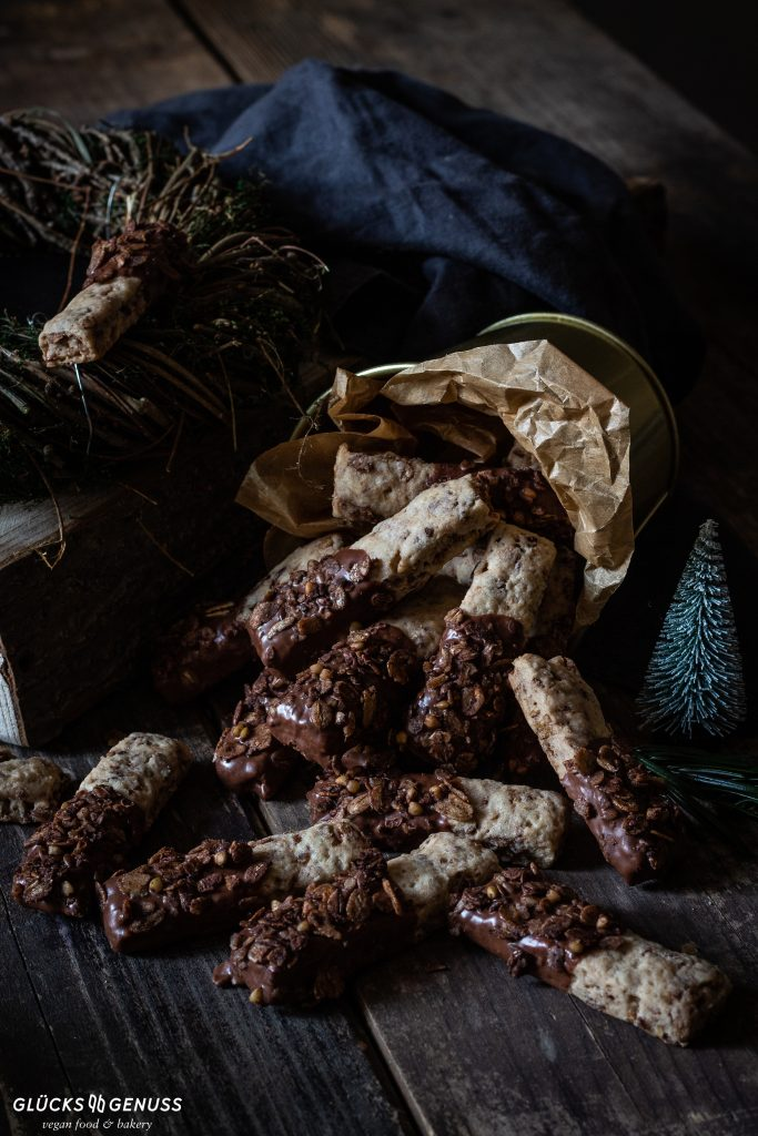 Schokoladen- Knusperstangen