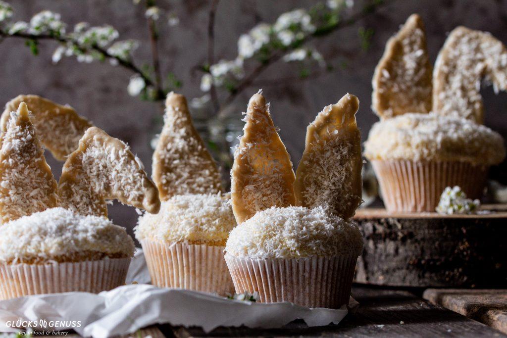 Vanillecupcakes mit Kokos