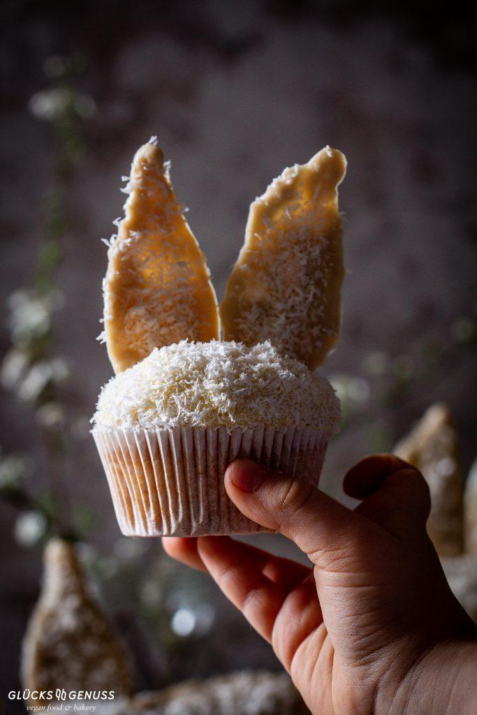 Cupcake mit Schokoohren