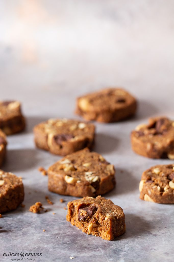 Schokoladen-Erdnuss-Cookies glutenfrei