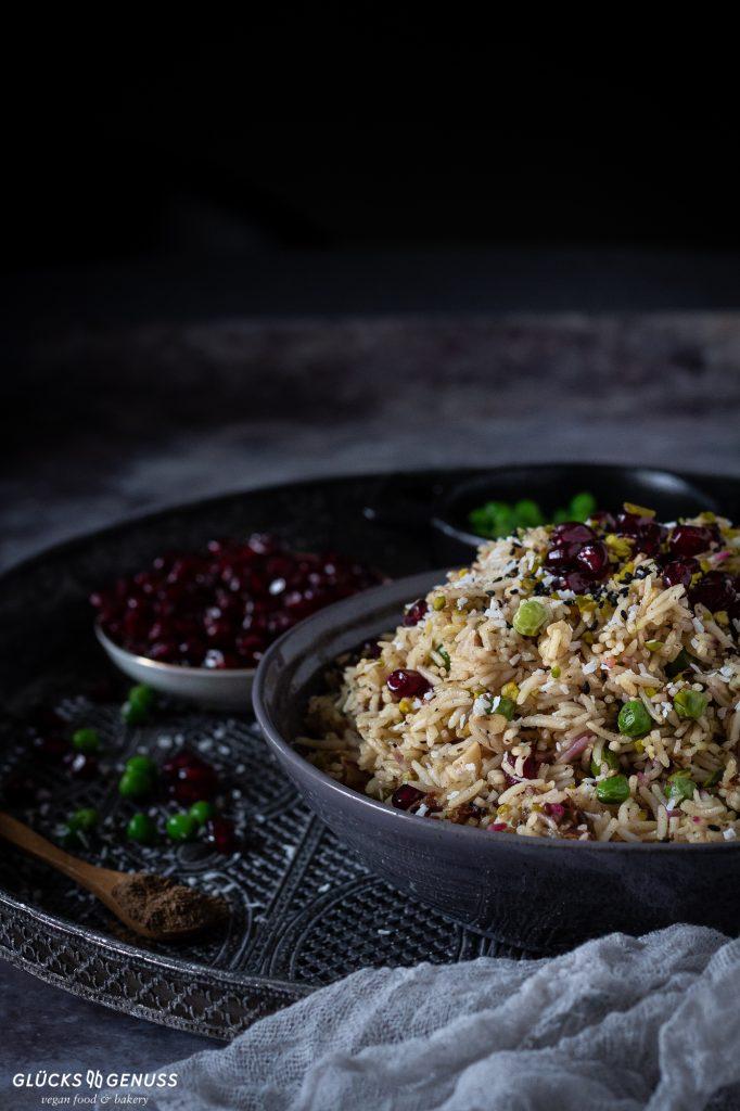 Orientalische Gemüse-Reispfanne