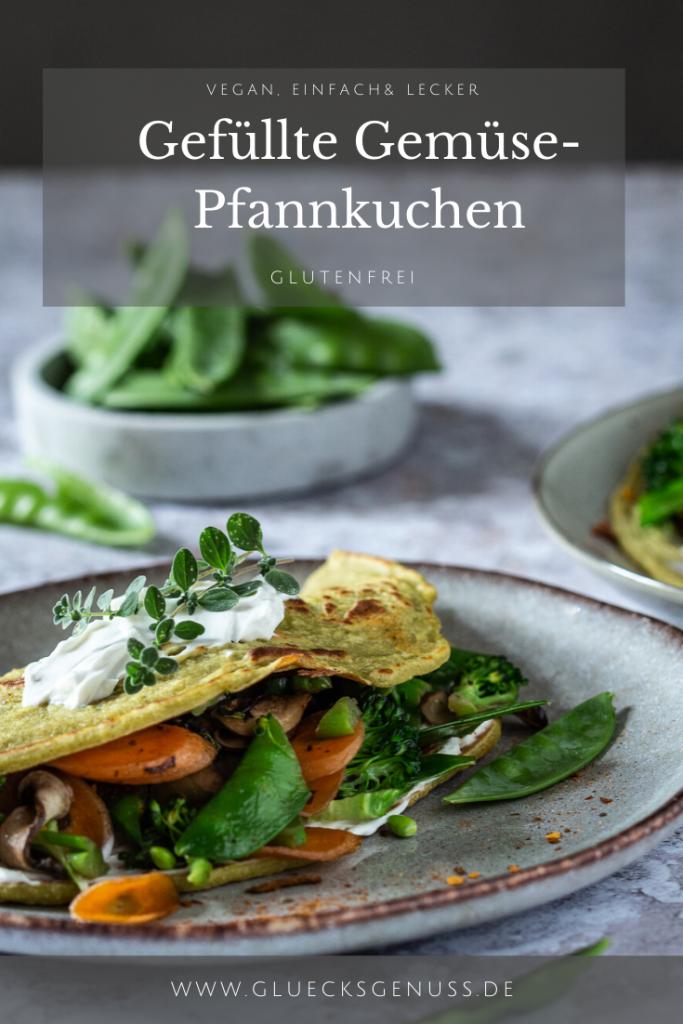 Glutenfreie Gemüse-Pfannkuchen