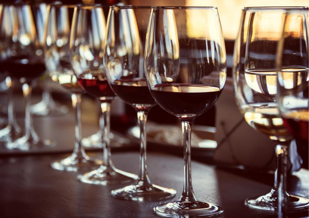 Weinverkostung Delinat
