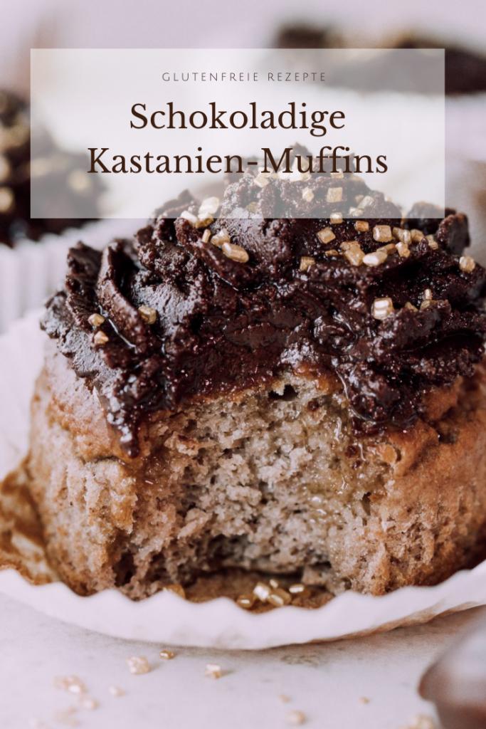 Glutenfreie Kastanienmuffins