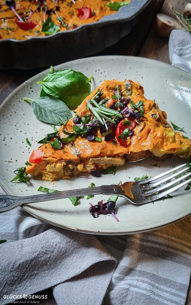 Gemüse Frittata italienisch